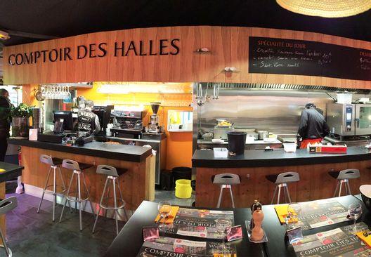 Comptoir des Halles - Bar à Huîtres & Spécialité de poissons