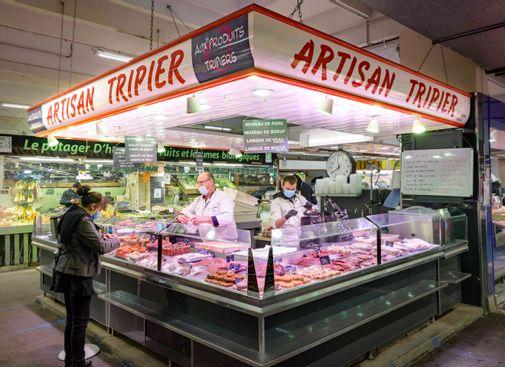 Tripiers du marché Jean Jaurès
