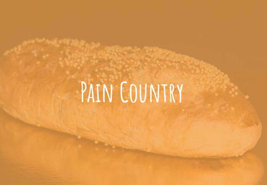Pain country (samedi et dimanche uniquement)