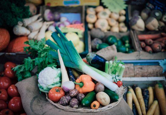 Panier de légumes de saison (moyen)