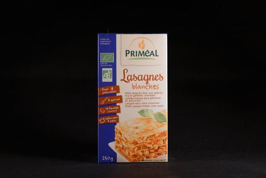 Lasagnes blanches bio PRIMEAL