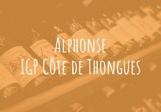 Alphonse, IGP Côte de Thongues