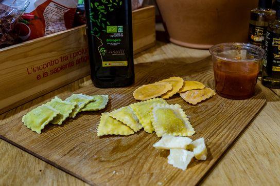 Raviolis épinard & ricotta (produit frais)