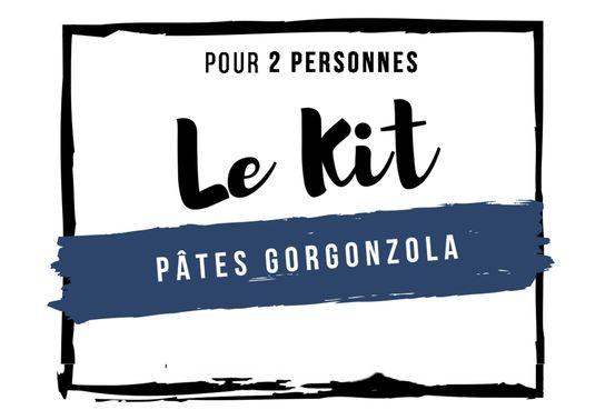 Kit Pâtes Gorgonzola - 2 personnes