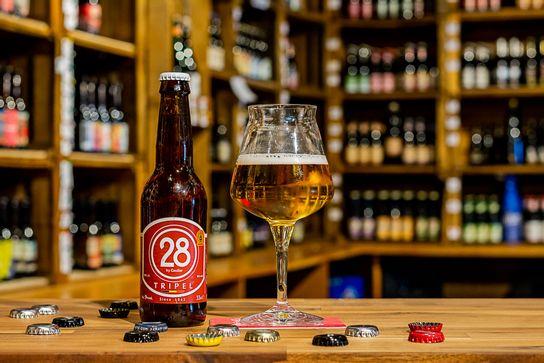 Brasserie CAULIER – 28 triple