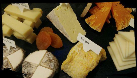 Plateau repas / fromages pour 2 personnes