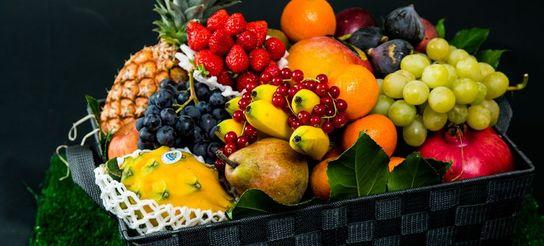 Corbeille de fruits de saison (4 personnes)