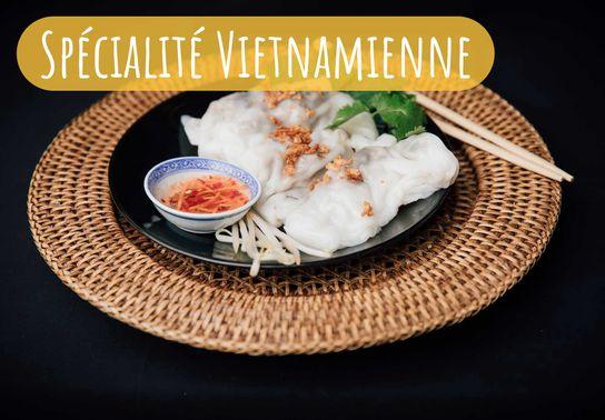 Banh Cuon (Spécialité Vietnamienne)