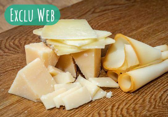 Assortiment de fromages - 4 personnes - A commander deux heures en avance