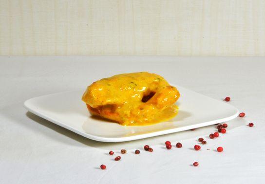 Murgh Korma : poulet aux amandes et au safran
