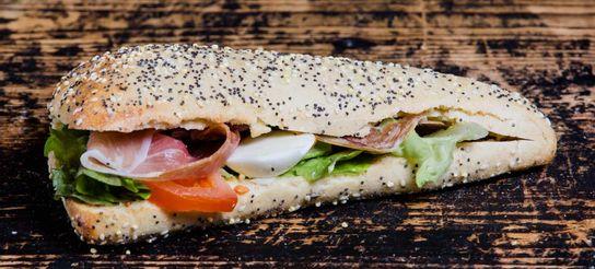 Sandwich du Chef Pain triangle aux céréales