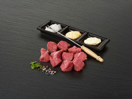 """Viande à fondue de bœuf """"Rumsteck"""""""