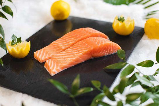 Pavé de saumon (P)