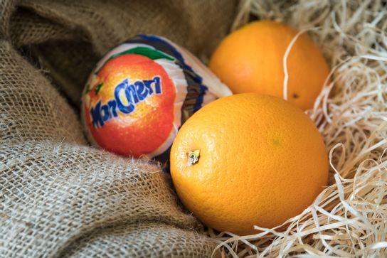 Orange à table