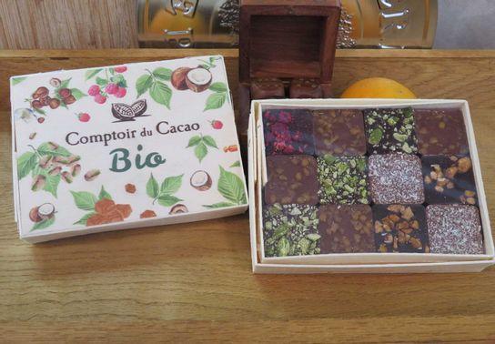 Coffret Bio 12p Comptoir Cacao