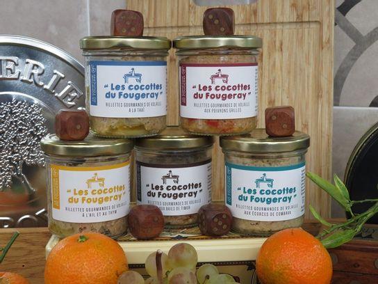 Les rillettes - Cocotte du Fougeray