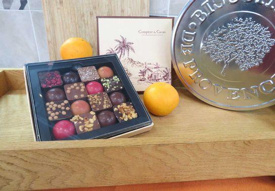 Coffret des Iles 16p Comptoir du Cacao