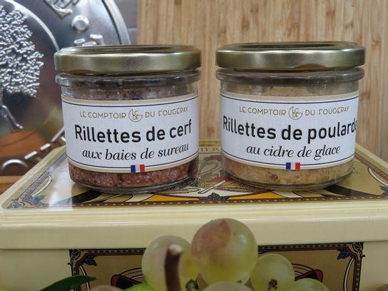 Les rillettes - Comptoir du Fougeray