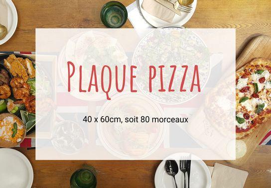 Plaque de pizza