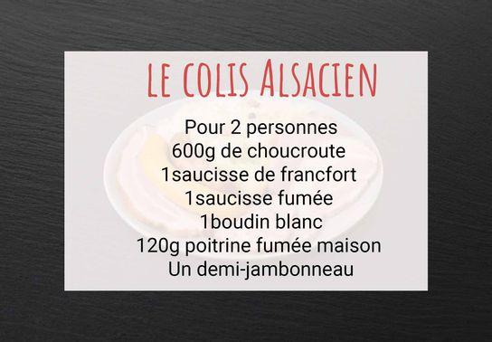 Colis Alsacien pour 2 personnes