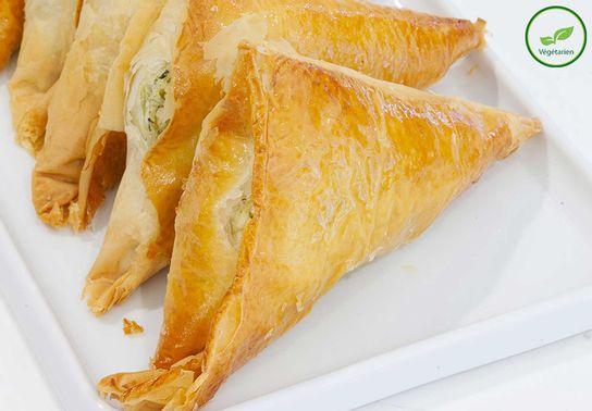 Tyropitta, Feuilleté aux trois fromages grecs