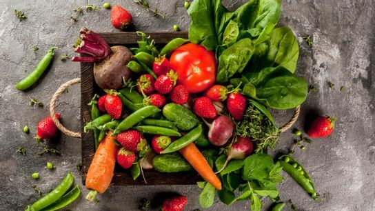 Le panier de fruits et légumes de saison - Potager
