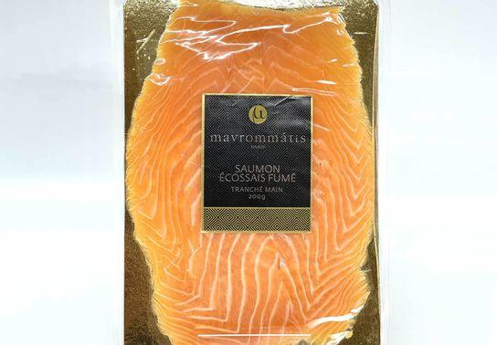 Saumon écossais fumée 4 tranches - 200 g