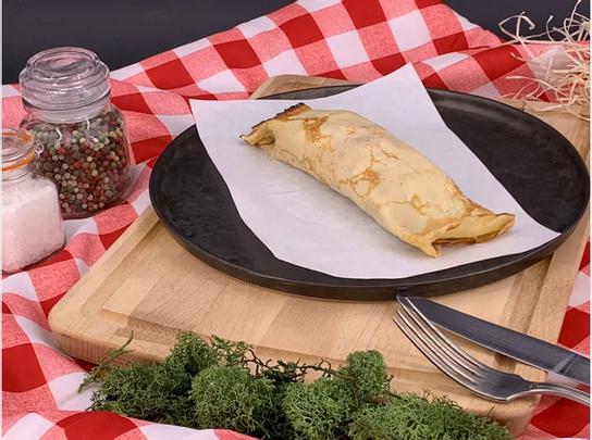 Crêpe du chnord cuisinée