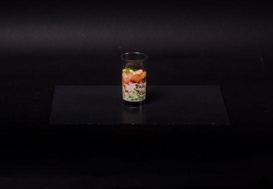 Mini verrine - Saumon
