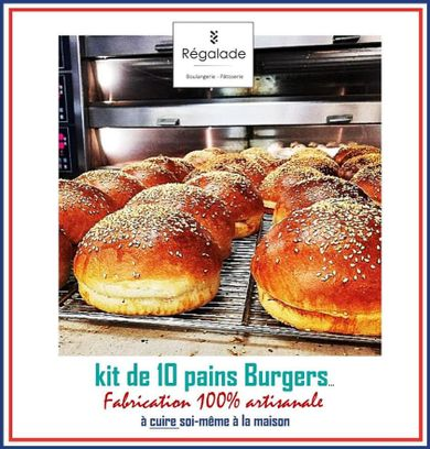 Kit do it yourself 10 pains burgers