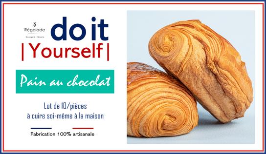 Kit do it yourself 10 pains au  chocolat