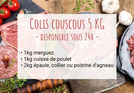 Colis Couscous 5 Kg - Disponible sous 24h