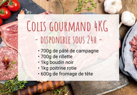 Colis Gourmand 4 Kg - Disponible sous 24h