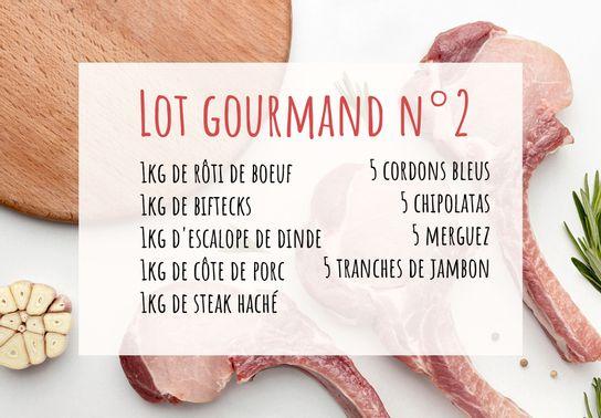Lot gourmand de votre boucher n°2