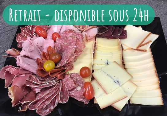 Assortiment raclette & charcuteries