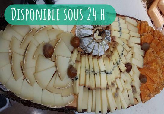 Planche découverte fromage