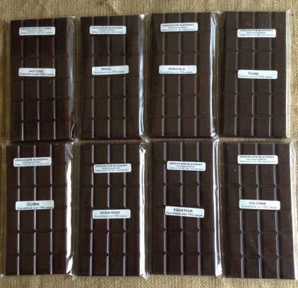 Tablettes de chocolats d'origine - Indonésie