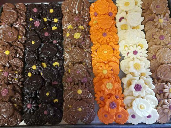 Fritures fleurs (en sachet)