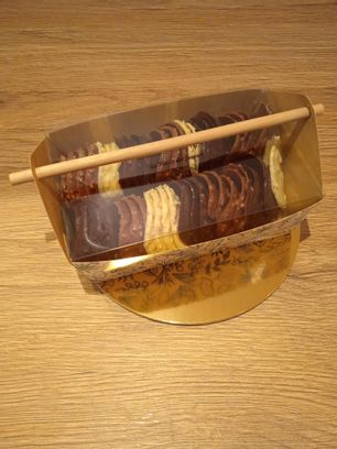 Malette de tuiles amandes chocolat 300g