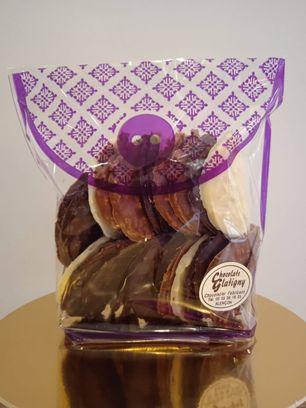 Tuiles amandes chocolat