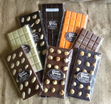 Tablettes de chocolat - Lait et noisettes