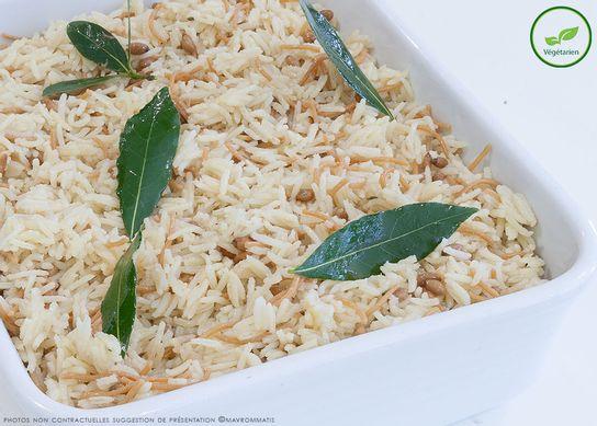 Riz long en pilaf