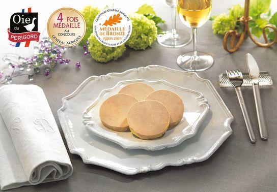 Foie Gras d'Oie Entier du Périgord - Boîte ronde - 400g