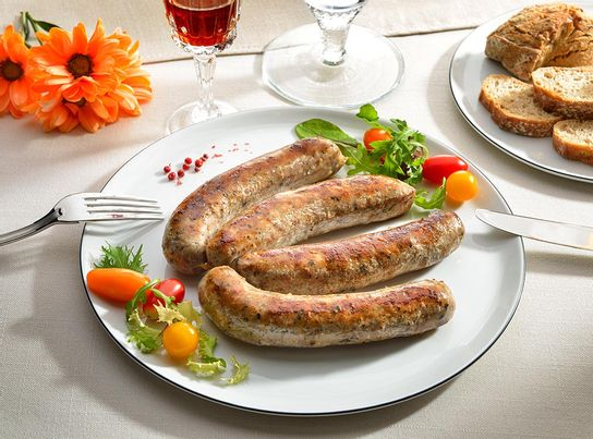 Saucissots Quercynois Truffés Mi-Cuits