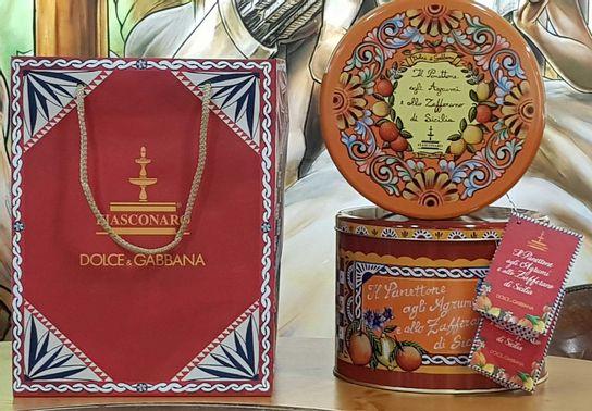 La Panettone Fiasconaro - Packagé par Dolce & Gabbana