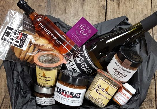 Panier gourmand Breton
