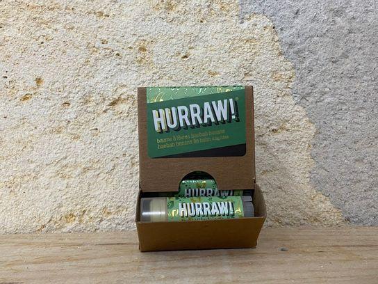 Baume à lèvres Pitta Coco menthe citronnelle Hurraw