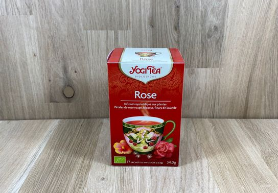 Infusion Rose Yogi Tea
