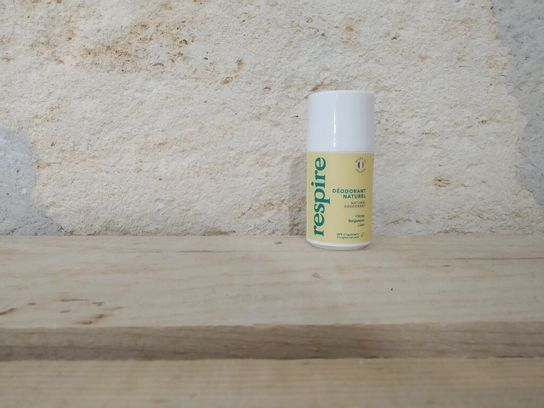 Déodorant à bille Citron Bergamote Respire