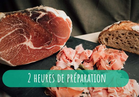 Plateau chiffonnades - repas et raclette 6-8 personnes